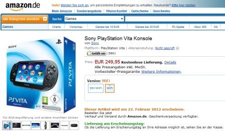 Как заказать PS Vita на Amazon.de? Подробная инструкция по покупке PS Vita на Amazon.de